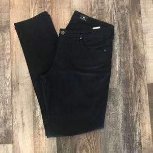 AG Jeans in black denim stretch